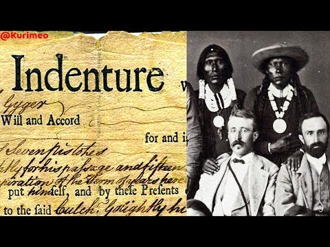 Pt. 19 - From Indigenous American to African American // 1619 - Indentured Servants not Slaves