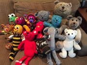 Knitted animals for KAS kids