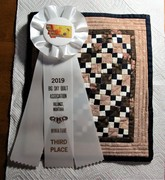 My mini quilt won!
