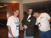 With David Terrenoire and J.A. Konrath