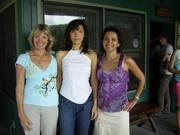 Sujata, Cindy, me Sept 2006