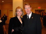 Lee Child and Robin Burcell at the Edgars 2007 1
