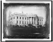 White House South Portico 1846