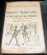 Old Sleuth Grant McKenzie