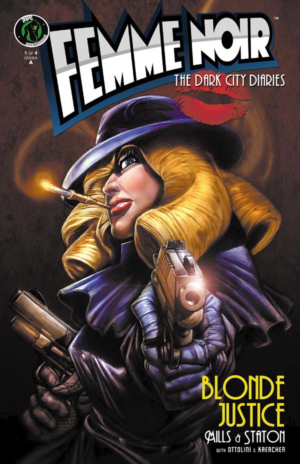 "Femme Noir #1 Cover ""A"""