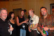 Caught by the camera at ThrillerFest 2008