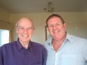 Bob with John Hannam -John Hannam meets