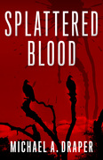 Splattered Blood jacket cover