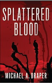 Splattered Blood Jacket cover