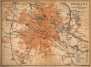 Map of Breslau 1910