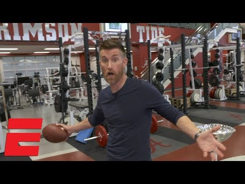 Inside the Alabama weight room with Marty Smith | ESPN