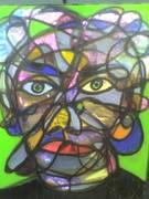 Portrait Painting by Lex Loeb