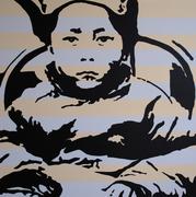 Seated Tenzin Gyatso