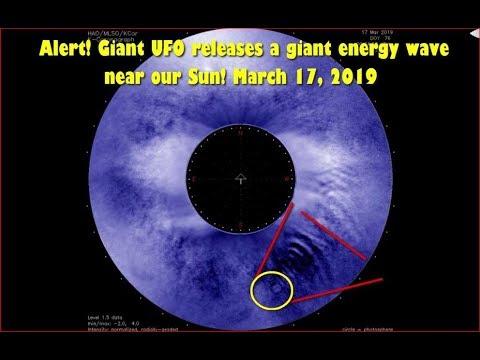 Огромная энергетическая волна зафиксирована на Солнце -March 17, 2019
