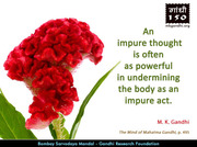 Thought For The Day ( IMPURE THOUGHT )