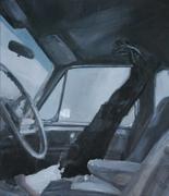 2008, astronaut, 50x58cm, oil on canvas