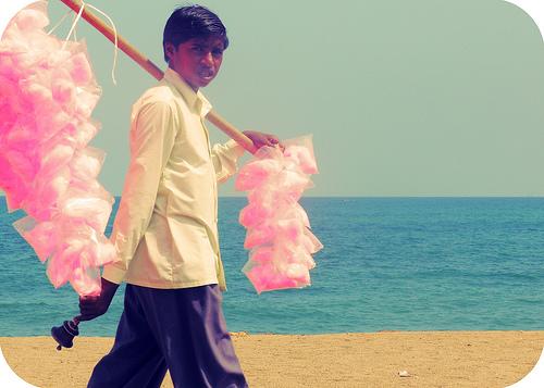 Panji Mettai - Cotton Candy seller