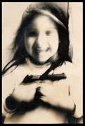 The girl of the gun