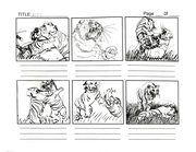 Tiger Fight Sequence