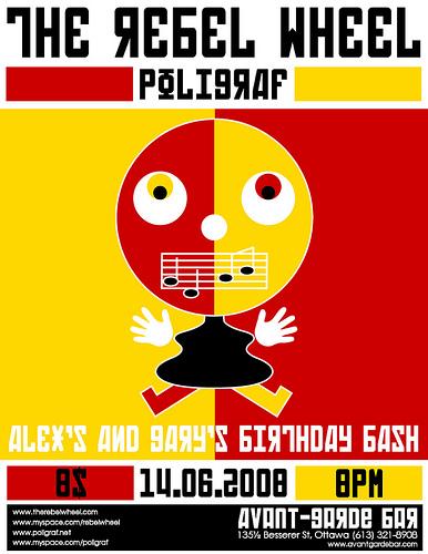 Poligraf @ l'Avant-Garde Bar 14.06.2008