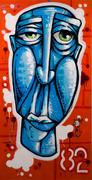 Blue Long Face