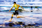 #7caballito de mar al trote