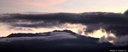 Amanecer en la cresta oriental del Ávila desde el Cerro El Volcán