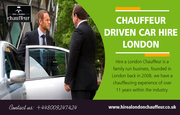 Chauffeur Driven Car Hire London