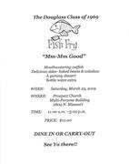 Class of 1969 Fish Fry