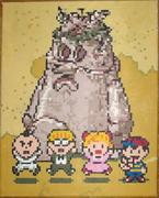 EarthBound Gang With Brickroad