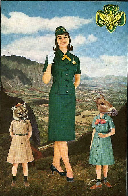The GIrl Scouts of America