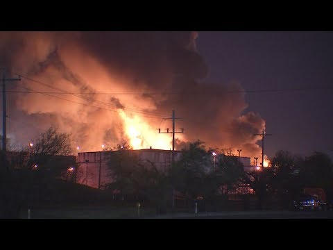 Flames spread to 6 more tanks at ITC Deer Park plant