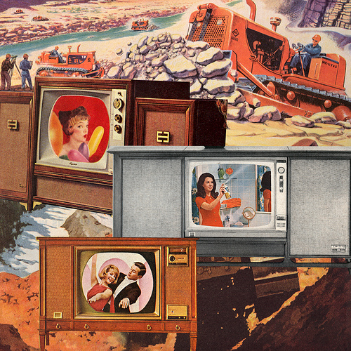 television wasteland - clutter