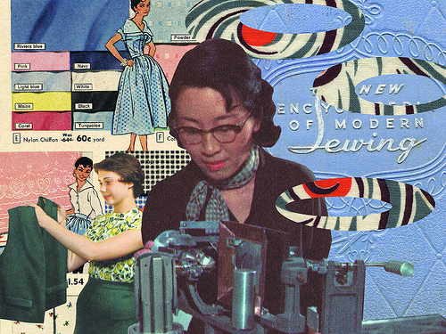 collage for stitch lab website