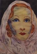 4-Marlene Dietrich por Carmen Luna