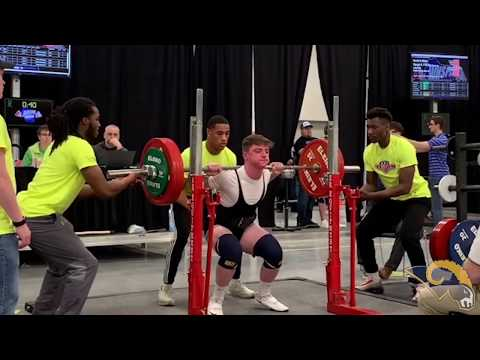 2018-19 Powerlifting Highlights