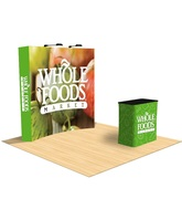 Fabric Pop Up Displays | Colorful Backdrops For Trade Show Booths | USA