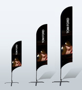 Shop Event Flag Banners With Graphics Print | Georgia