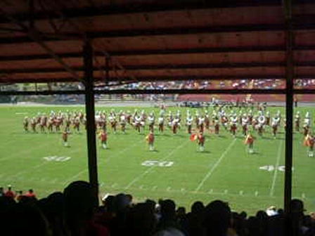 Tuskegee Band fall 08 dance routine!!