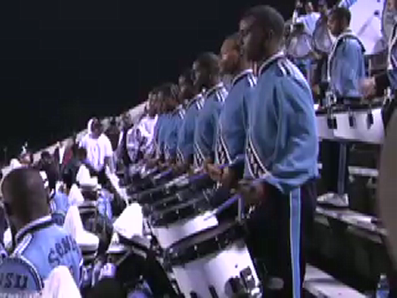 Jackson State Percussion - WT - Solo Cadence