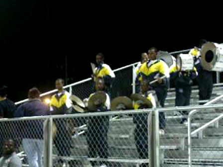 Grambling Lab.School Band Drumsection 2008