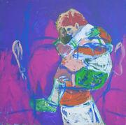 Serie super  Sebastian - Acrilico sobre tela - 100 x 100 cm - 2007