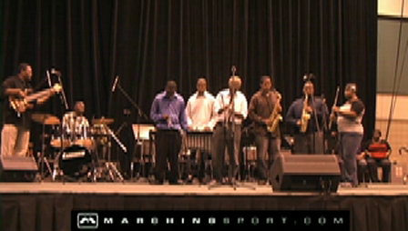 Southern University Jazz Band (2009) @ The Alcorn Jazz Festival