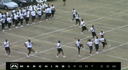 Southern High School Band Camp (2009) - Drill