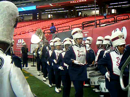 Silver Thunder Marching In ATL Classic