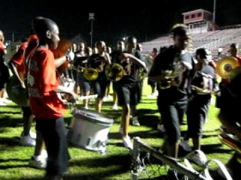 Jack Robey Jr. High B.O.P. Marching Out Stadium 2009