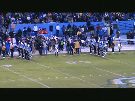 SU Halftime Show vs Fort Valley State 2009 Pt 1