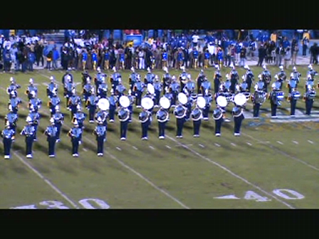 SU Halftime Show vs Fort Valley State 2009 Pt 2