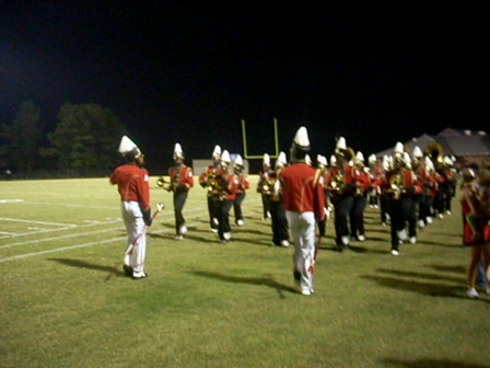 Marching Off After Field show @ CCC