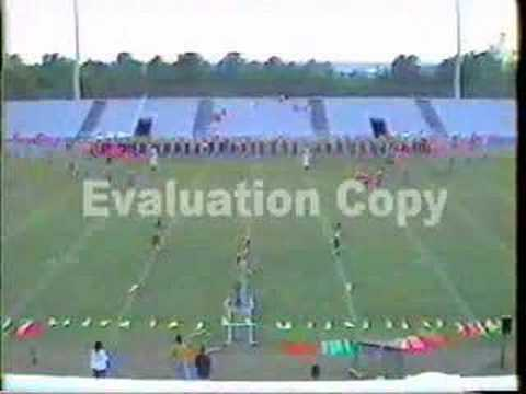 """Dudley High School Marching Band 1999 """"ROOTS Theme"""""""